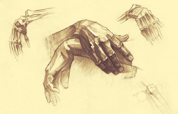 6 methods to learn to draw hands step by step