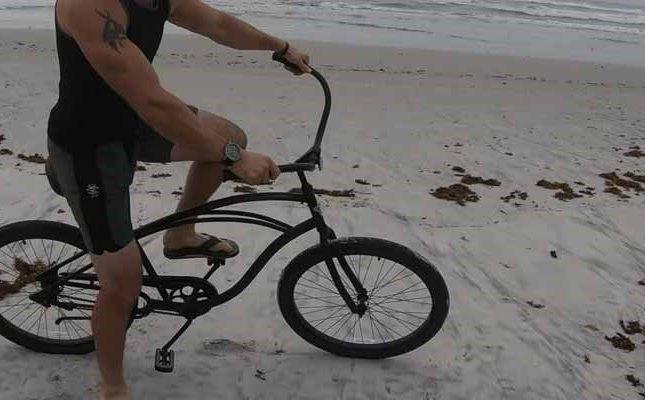 Ride Beach Cruiser Bike on Sand