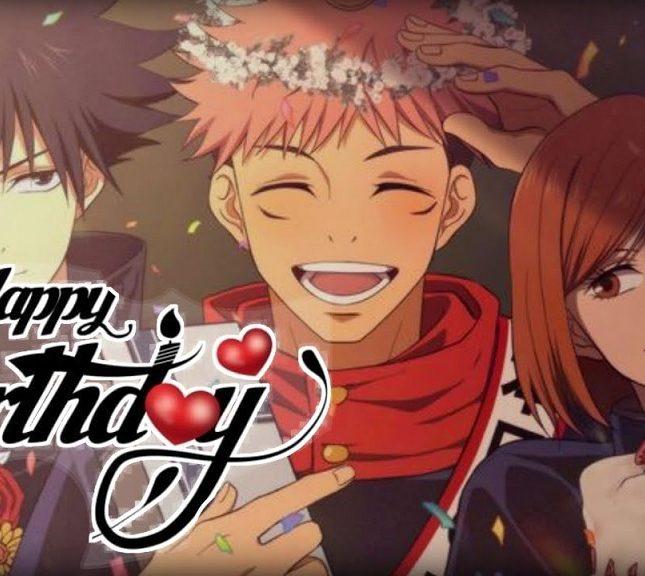 Happy birthday Anime tips